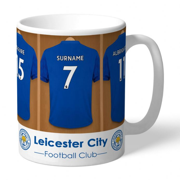 Personalised Leicester City FC Football Dressing Room Mug | Personalised Sports Gifts | The Present Season